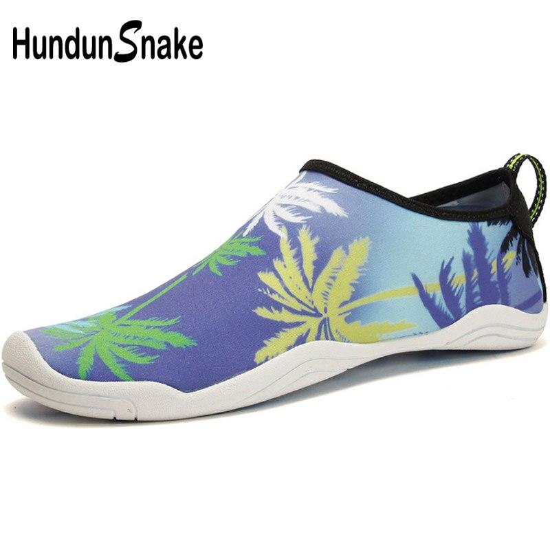 Hundunsnake Mesh Women Sea Shoes For Swimming Pool Sea Male Beach Shoes For Men Kids Water Shoes Aqua Ladies Sport Slippers T511
