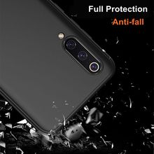 Luxury Soft TPU Frosted Phone Case For Xiaomi 9 9se Matte Full protection Fingerprint Anti-fall Back Cover Shell New wholesale