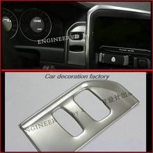 Интерьер автомобиля зажигания украшения устройства панели Key Hole пайетки отделкой из нержавеющей стали полосы стайлинга автомобилей 3D наклейка для Volvo XC60