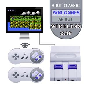 Image 1 - Mini Retroคอนโซลเกมไร้สายจอยสติ๊กเกมมือถือคอนโซลเกม630เกมAV Outคอนโซลวิดีโอ