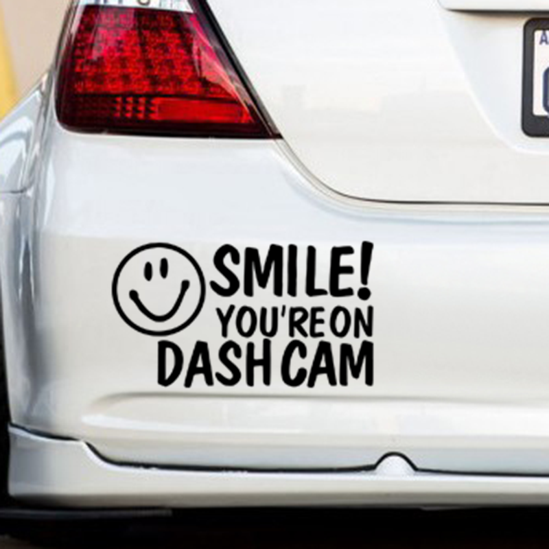 Youre on dash cam car van window bumper novelty camera security sticker in car stickers from automobiles motorcycles on aliexpress com alibaba group
