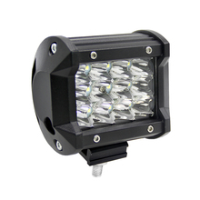 4 Inch 5500LM 36W Outdoor Waterproof LED Spotlight Super Bright COB Led Work Light for Car Boad Truck Offroad Auto Lighting 12V