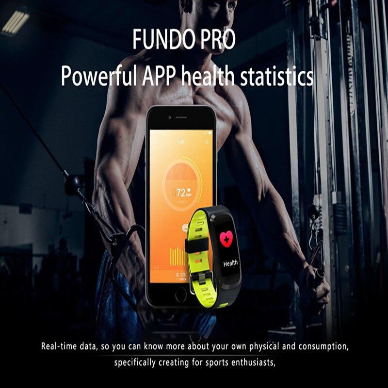 Sports fascinante bracelet en oxygène du sang moniteur de fréquence cardiaque sang pression tracker smart bracelet sommeil moniteur fitness bande F4