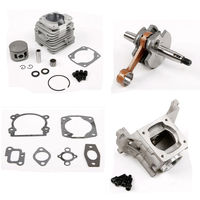 Rofan 45cc Набор цилиндров двигателя fit 45cc двигатель газа двигатели для автомобиля 1/5 HPI Rovan км Baja Losi DBXL Rc части автомобиля