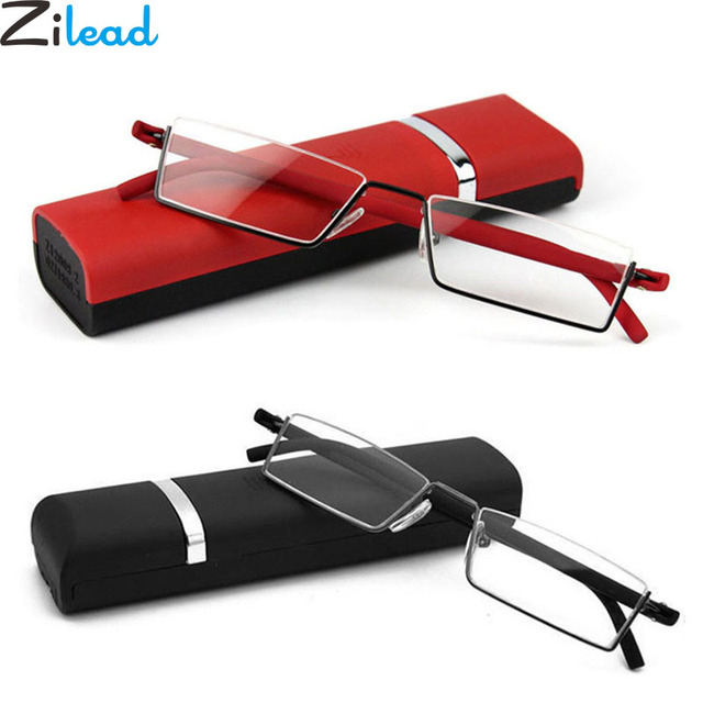 Zilead Comfy Light Half Frame Reading Glasses TR90 Resin HD Foldable Presbyopic Glasses Unisex For Women&Men Fashion
