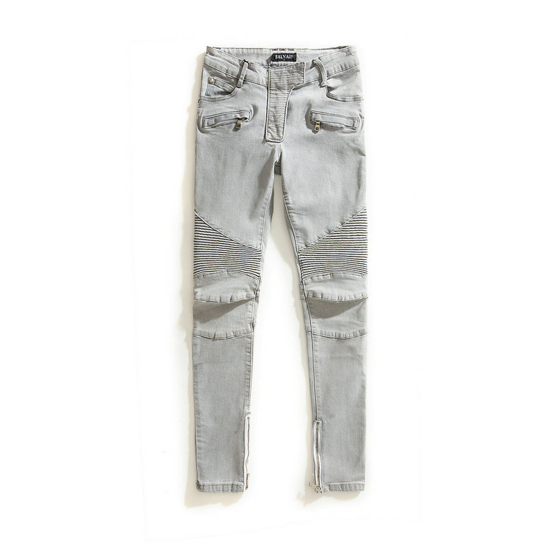 Balmain jeans Stretch Skinny BIKER Gray Denim Low Rise Women's Jeans Sz 28 29 30-in Jeans  from Women's Clothing on Aliexpress.com | Alibaba Group