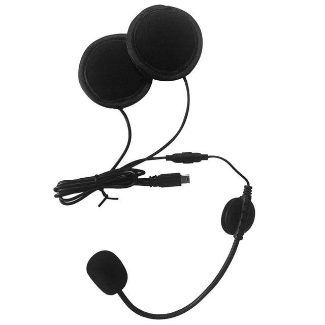 V8 Motorcycle Helmet Bluetooth Intercom Helmet Headset Headphone 5 Riders Interphones Bluetooth Headset FM Radio Remote Control