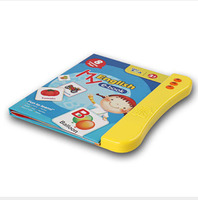 Children english e book early education reading book english word learn book for baby gift