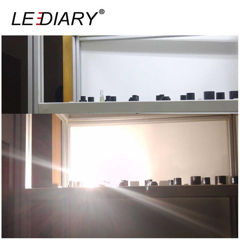 LEDIARY 10 шт. Dimmable G9 галогенная лампа 25 Вт/40 Вт/50 Вт 110 В/220 В 2700 к теплый белый для настенных ламп прозрачное стекло каждый с внутренней коробкой