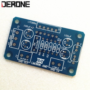 Image 3 - LM3886TF lm3886 güç amplifikatörü PCB HiFi profesyonel ses 1 adet için Audiophile diy
