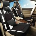 3D Спортивный Автомобиль Чехол для Сиденья Подушки Шелка Льда Общие Для Toyota Corolla RAV4 Prius Прадо Highlander Sienna zelas verso Mark X Корона