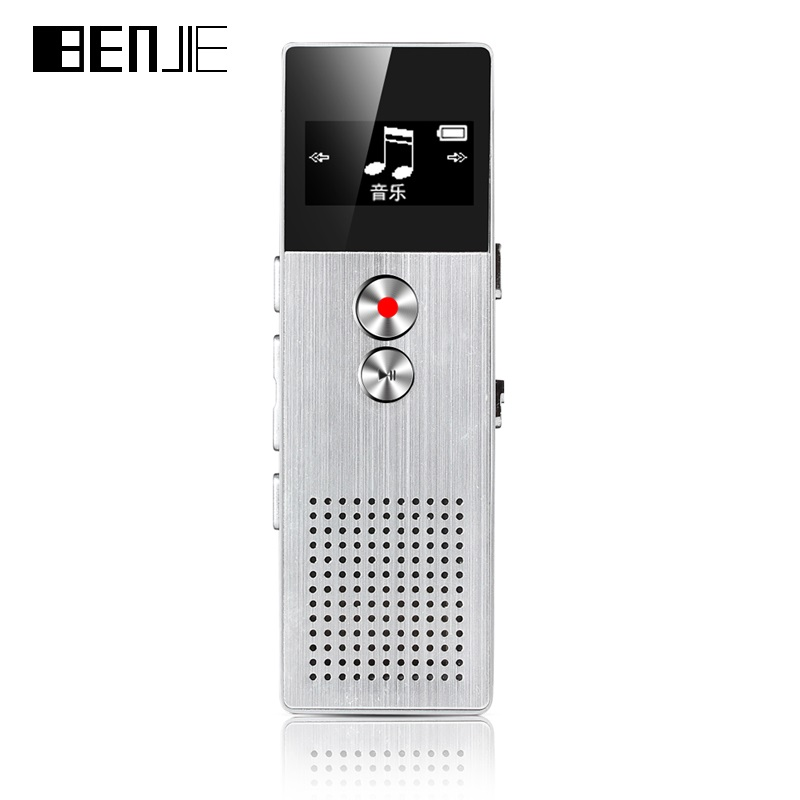 BENJIE BJ M23 8GB Digital Voice Recorder 15m Professional ...
