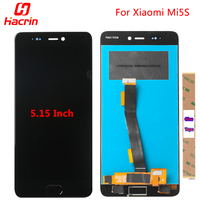 For Xiaomi Mi5S LCD display + Touch Screen Digitizer Assembly Replacement Premium for Xiaomi Mi 5S 5.15 inch