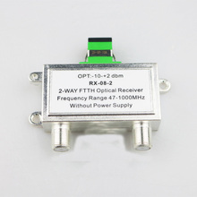 FTTH passive 2 way distribution optical receiver ftth catv mini