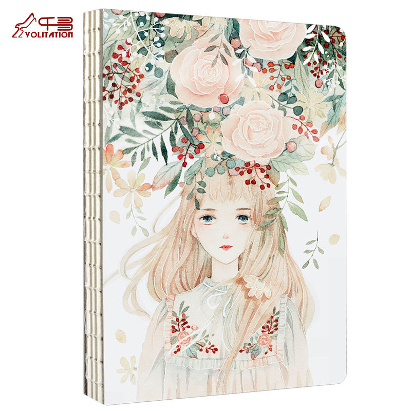 ФОТО Thousand Search 16k Sketch Basis Sketch Basis Small Fresh Originality Hand Draw Basis Blank Notebook Stationery Notebook
