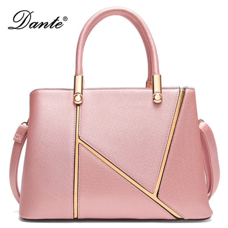 Dante Brand women handbags new fashion handbags ladies shoulder trend gift with the hand bag direct sales for women qiaobao 100% genuine leather handbags new network of red explosion ladle ladies bag fashion trend ladies bag