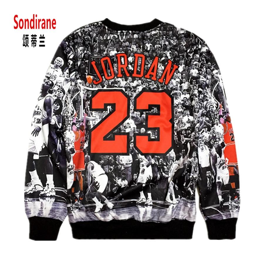 f127d200065b12 Sondirane Fashion Design 3D Graphic Sweatshirts Printed Jordan Last Shot  Pullover Cheap Clothing Hoodies Long Sleeve Sweats Tops-in Hoodies    Sweatshirts ...