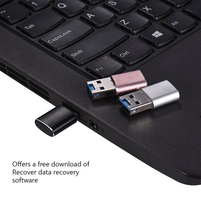 USB 3,0 USB adaptador MINI lector de tarjetas portátil MICRO SDXC USB3.0 lectores de tarjetas para Tablets PC ordenador Notebook Laptop Escritorio