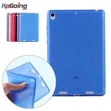 Xiaomi Mipad 1 Case X-Line Grip Soft TPU Clear Matting Cover Funda Xiaomi-Mipad 1 Capa Xiaomi Mi Pad 1 Back Cover Matte Capinha