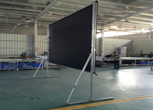 Image 3 - Wholesale Cheap Cost HD Projector Projection Screen 200 inch 16:9 Quick Install Outdoor Movie Screens Use For School Conference