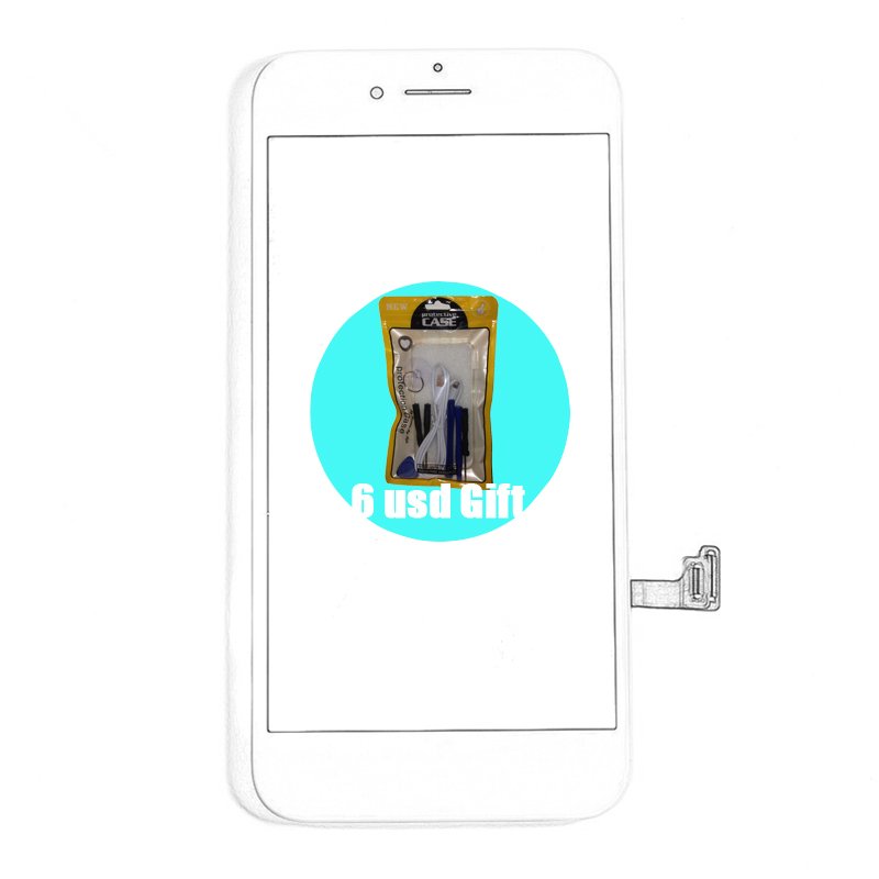 [6 USD GIFT] 100% Guaratee Screen Replacement for <font><b>iPhone</b></font> 6 6S 7 <font><b>8</b></font> <font><b>LCD</b></font> Black White <font><b>Ecran</b></font> OEM Display on 66S78 image