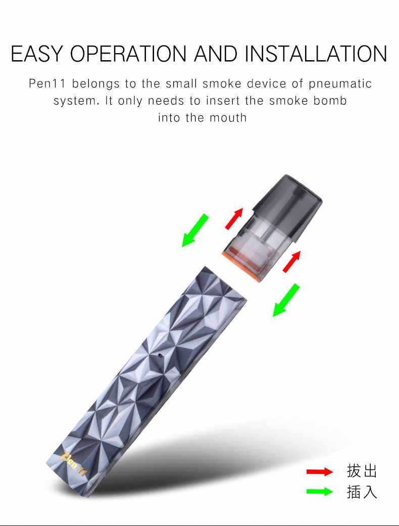 hight resolution of  ewinvape vape pod pen 11 kit 2ml atomizer pod 350mah battery ceramic coil support nic salt