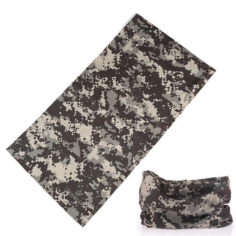 Camouflage Scarf Face-Shield Motorcycle-Bandana Buffe Magic-Kerchief Shemagh Military