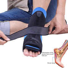 Ankle Support Foot care Plantar Fasciitis Dorsal Night Day Splint Foot Orthosis Stabilizer Adjustable Brace цена