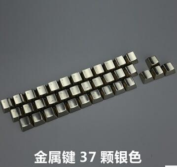 Switches Mechanical-Keys Keycaps Mkc-Cherry Metallic Silver Gaming Mx DOTA2 Special Cs-Go