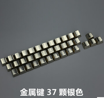 Mechanical Keys MKC Cherry Mx Switches Keycaps DOTA2  Special CS GO Gaming  Metallic Silver Metal Keycap OEM