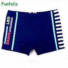 Free Shipping Big boy trunk 2 colors kid boy swimwear children 5-15 age kids boxer swimsuit boys bathing suit стоимость