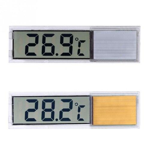 Thermomètre d'aquarium nouveau multi-fonctionnel LCD 3D numérique électronique mesure de température réservoir de poissons compteur de température