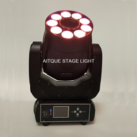 8lot Led stage lights lyre wash 9*12w moving head 75w led moving head 75 rgbaw uv gobo led moving head light