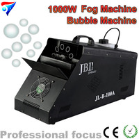 Free Shipping 1000W Fog Bubble Machine High Speed Smoke Bubble Output Wireless Remote Quantity Control Professional Stage Fog