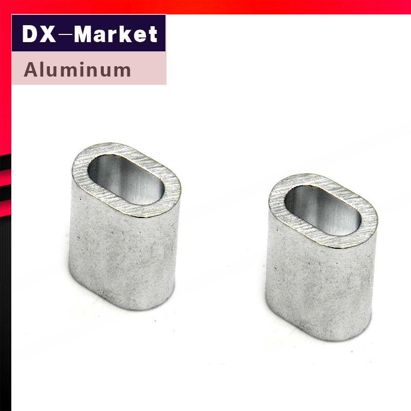 40mm , aluminium oval sleeve , ellipse aluminium ferrules,aluminium clamp aluminium