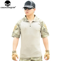 EMERSONGEAR Combat Shirt Pants with Knee Pads Tactical Shirt Pants Airsoft Paintball Outdoor Hunting Clothes EM6918