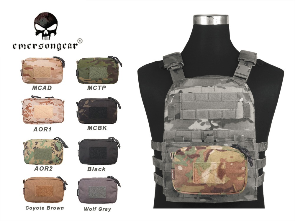 Emerson Utility Pouch EDC Pouch Molle Pouch 18*11cm Airsoft Gear Military Army