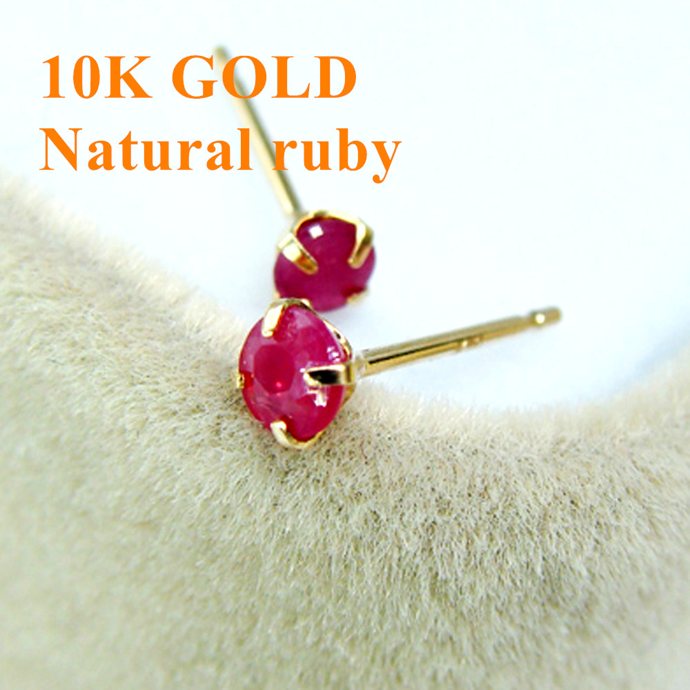 earrings ruby natural gold product chi