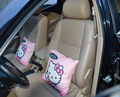 1 pcs Car cushion for leaning on Car waist pillows car styling Couch pillow Auto Accessories decorative pillow hello kitty 3201