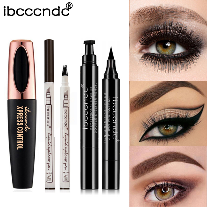 Punctual 2019 New Hot Magnetic Liquid Eyeliner & Magnetic False Eyelashes & Tweezer Set Waterproof Long Lasting Eyeliner False Eyelashes False Eyelashes Beauty Essentials