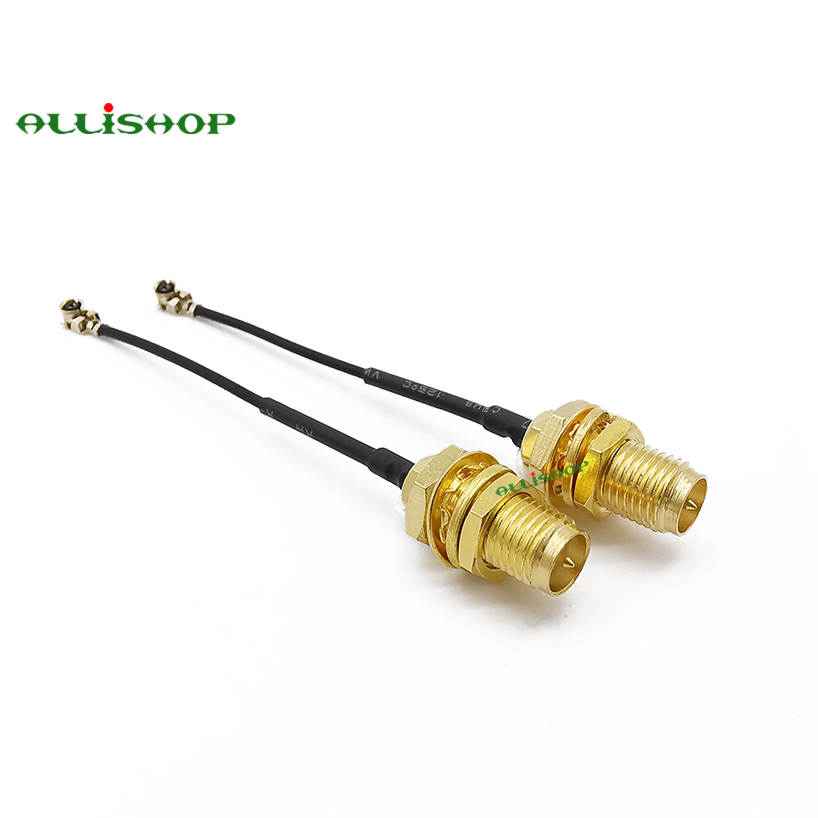 RP SMA Female to uFL//u.FL//IPX//IPEX RF Coax Adapter Assembly RG178 Pigtail YF