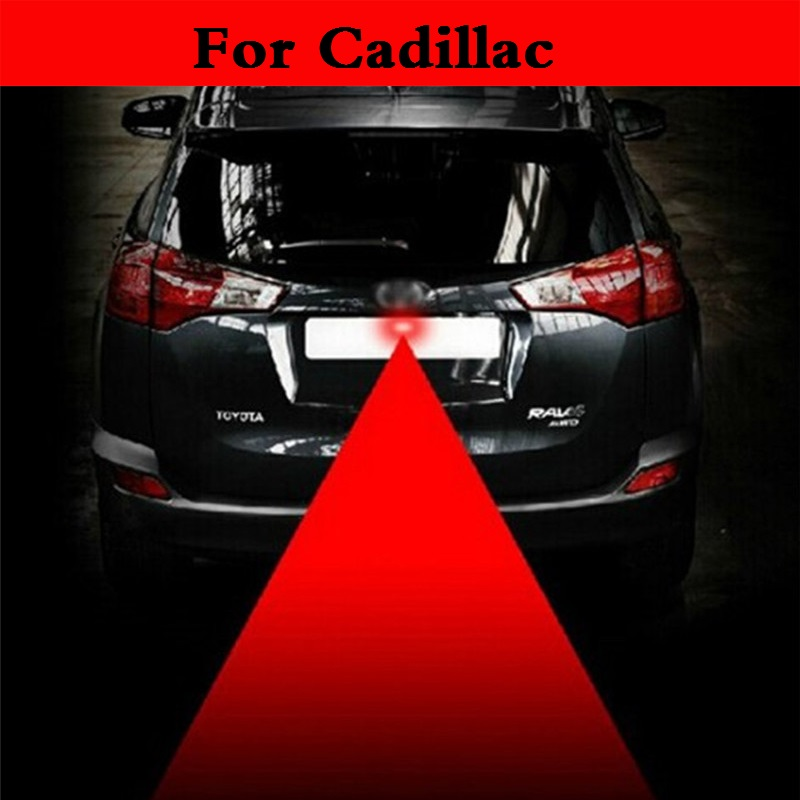 auto Laser Anti-Collision Fog warn Signal Taillight Bulb Lamp For Cadillac ATS-V BLS CT6 CTS-V De Ville DTS ELR SRX STS XLR XTS
