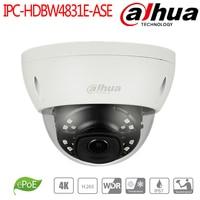 Dahua 8MP ИК Мини купольная сетевая Камера аудио сигнала тревоги в/out POE Smart обнаружения cctv системах видеонаблюдения