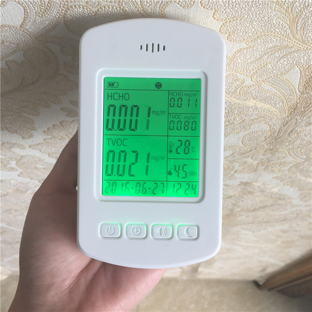 Smart home product pm2.5 air quality detector formaldehyde air quality monitoring
