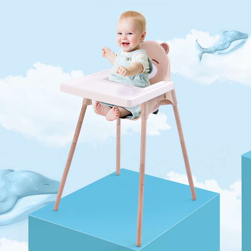 Baby Chair Portable Adjustable Infant Seat Portable Children High Seat Baby Feeding Table Multifunction Chairs
