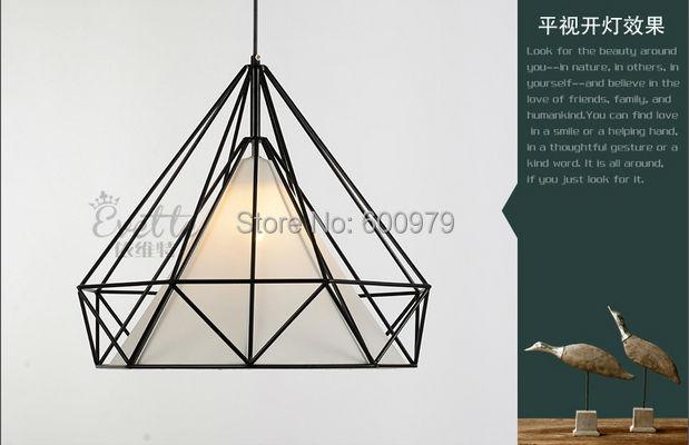 Artistic Creativity Iron Pendant light  Droplight Lamp Light For dinning room Restaurant Lighting  diameter 38cm
