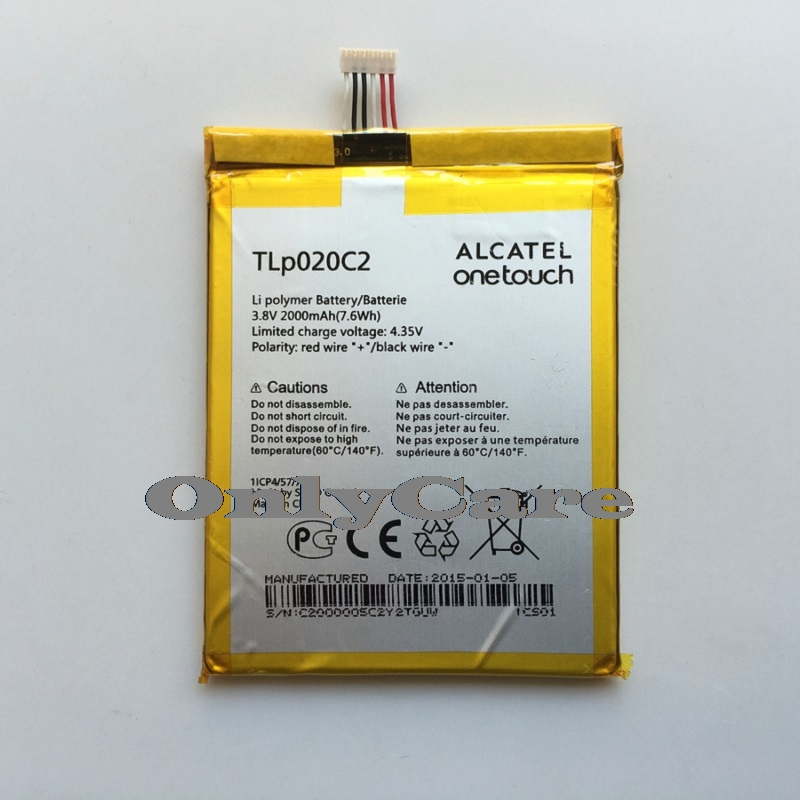 TLP020C2 2000mAh Battery For Alcatel Idol x1s 6034R S950 Idol x 6037y 6040x 6032 TCL S950 Batterie Bateria Accumulator