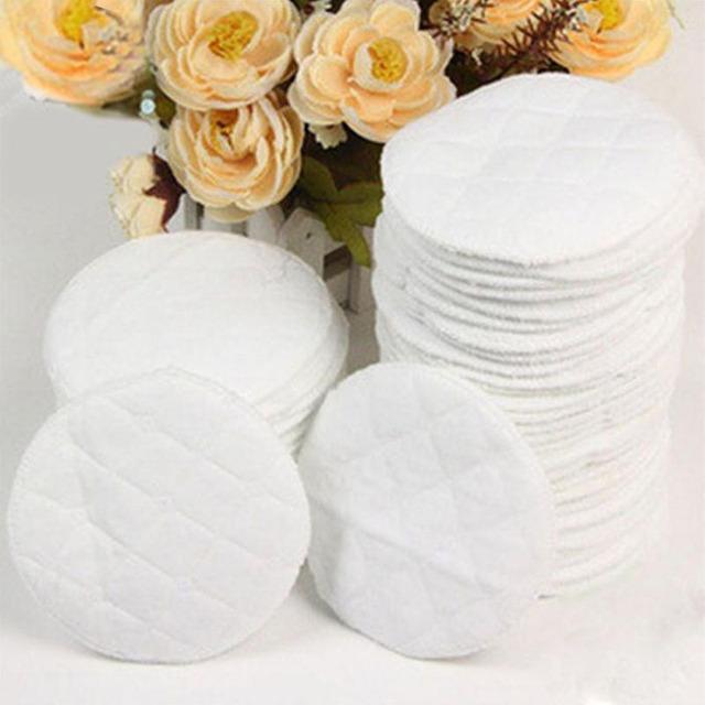 ¡El mejor precio! 10 piunids/lote almohadillas de lactancia reutilizables lavables suave absorbente para amamantar