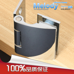 10-year Warranty Wall to Glass Offset Hinge for 8-12mm 5/16-1/2 Thickness Glass  Polished Chrome Shower Door  Brass Hinge