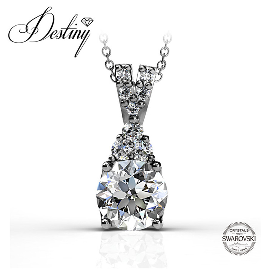 Destiny Jewellery Embellished with crystals from Swarovski necklace 925 sterling silver jewelry pendant DP0108
